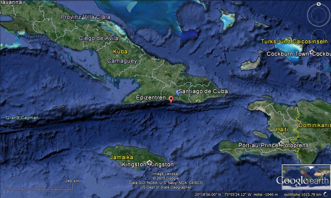 jamaika erdbeben