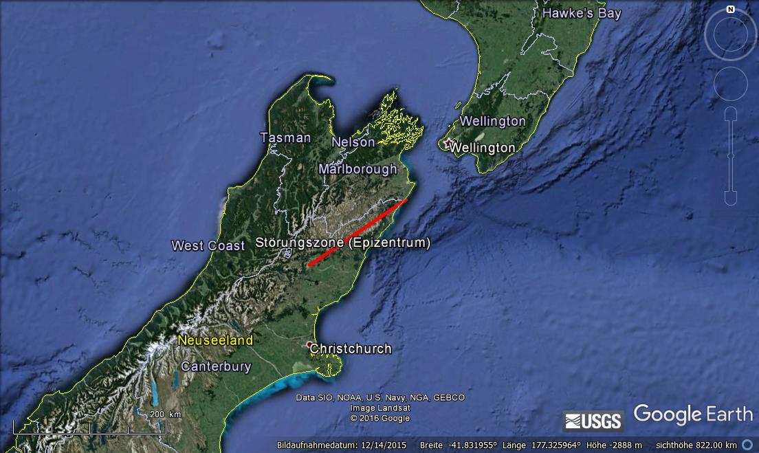 Schweres Erdbeben In Neuseeland Hauser Zerstort Tsunami Warnung Erdbebennews