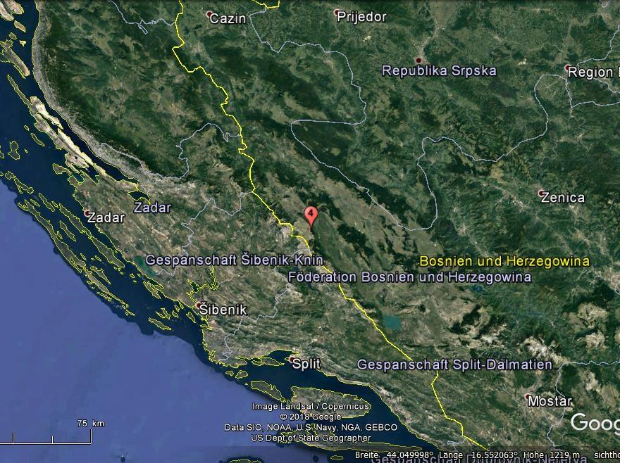 Erdbeben bosnien