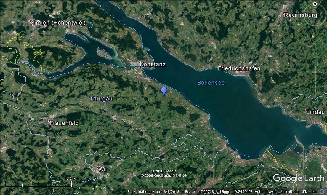 Erdbeben Bodensee