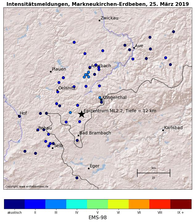 Erdbeben im Vogtland gespürt