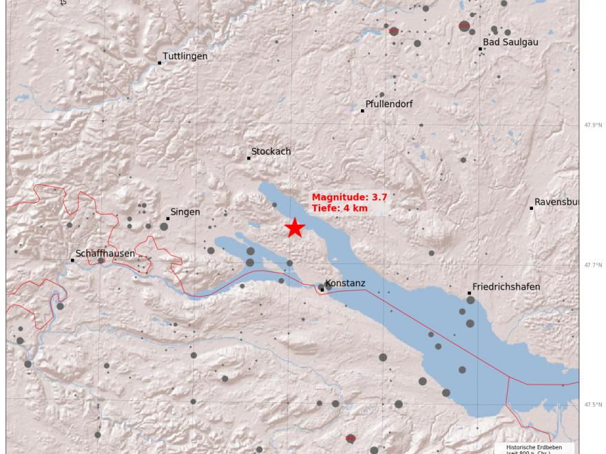 Erdbeben Bodensee Aktuell