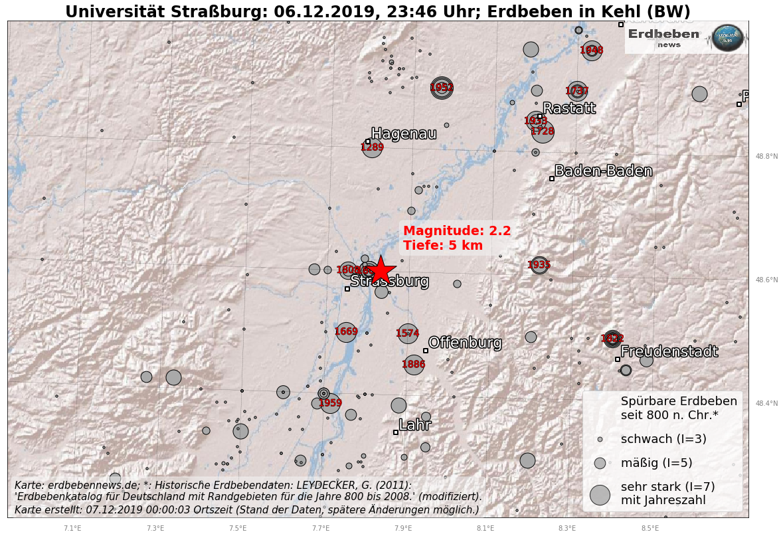 Erdbeben Kehl