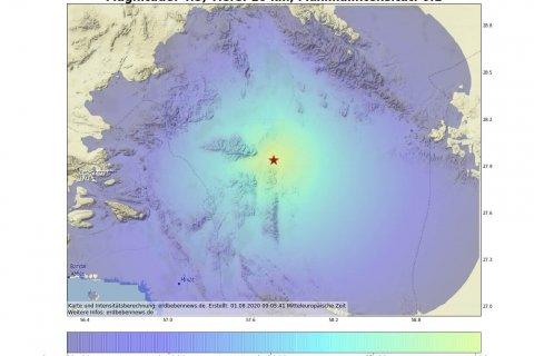 Erdbeben in Kahnuj