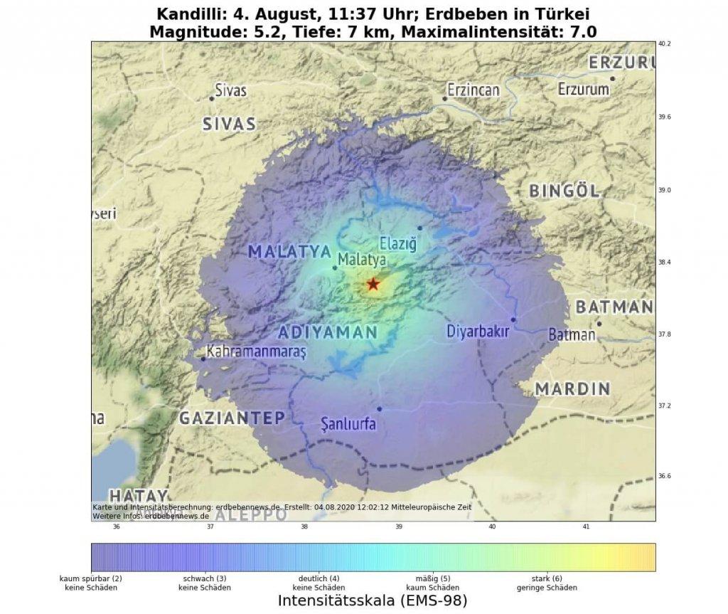 Erdbeben Malatya