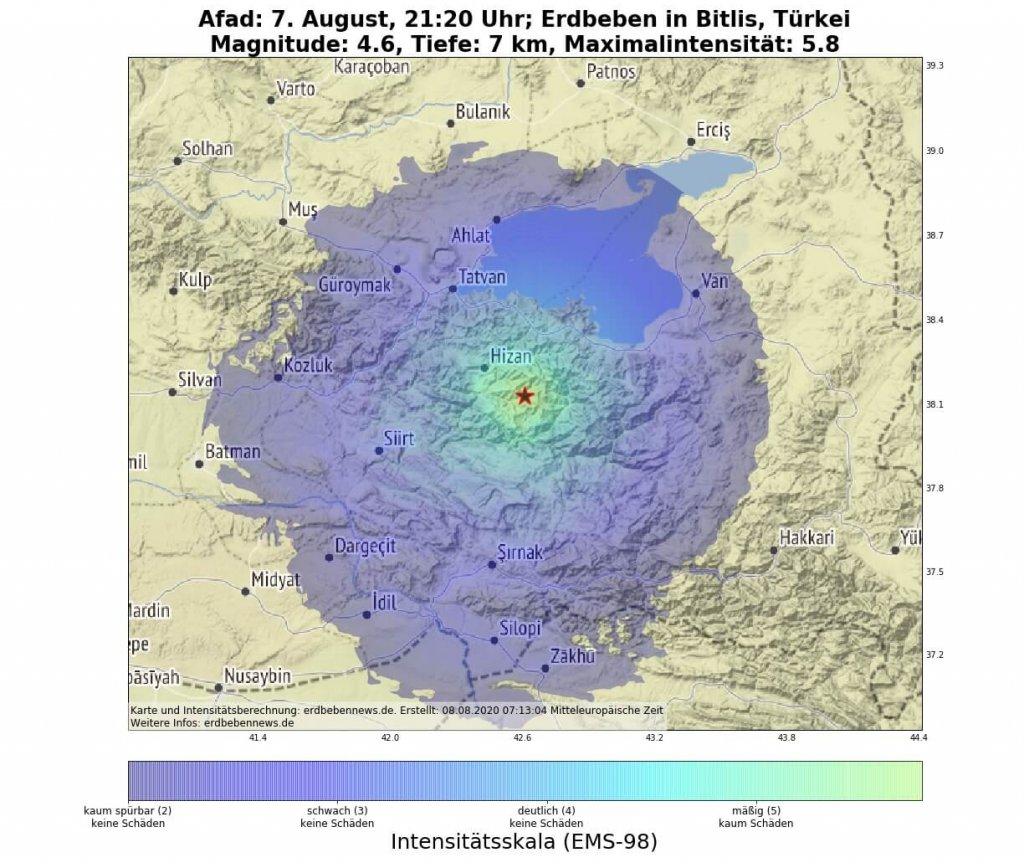 Erdbeben Bitlis