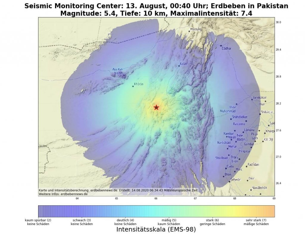 Erdbeben Pakistan