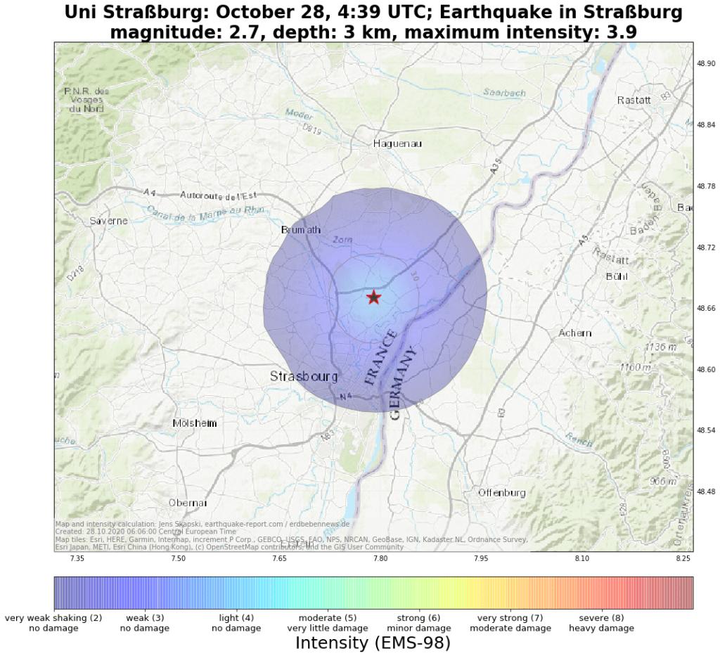 Erdbeben Straßburg