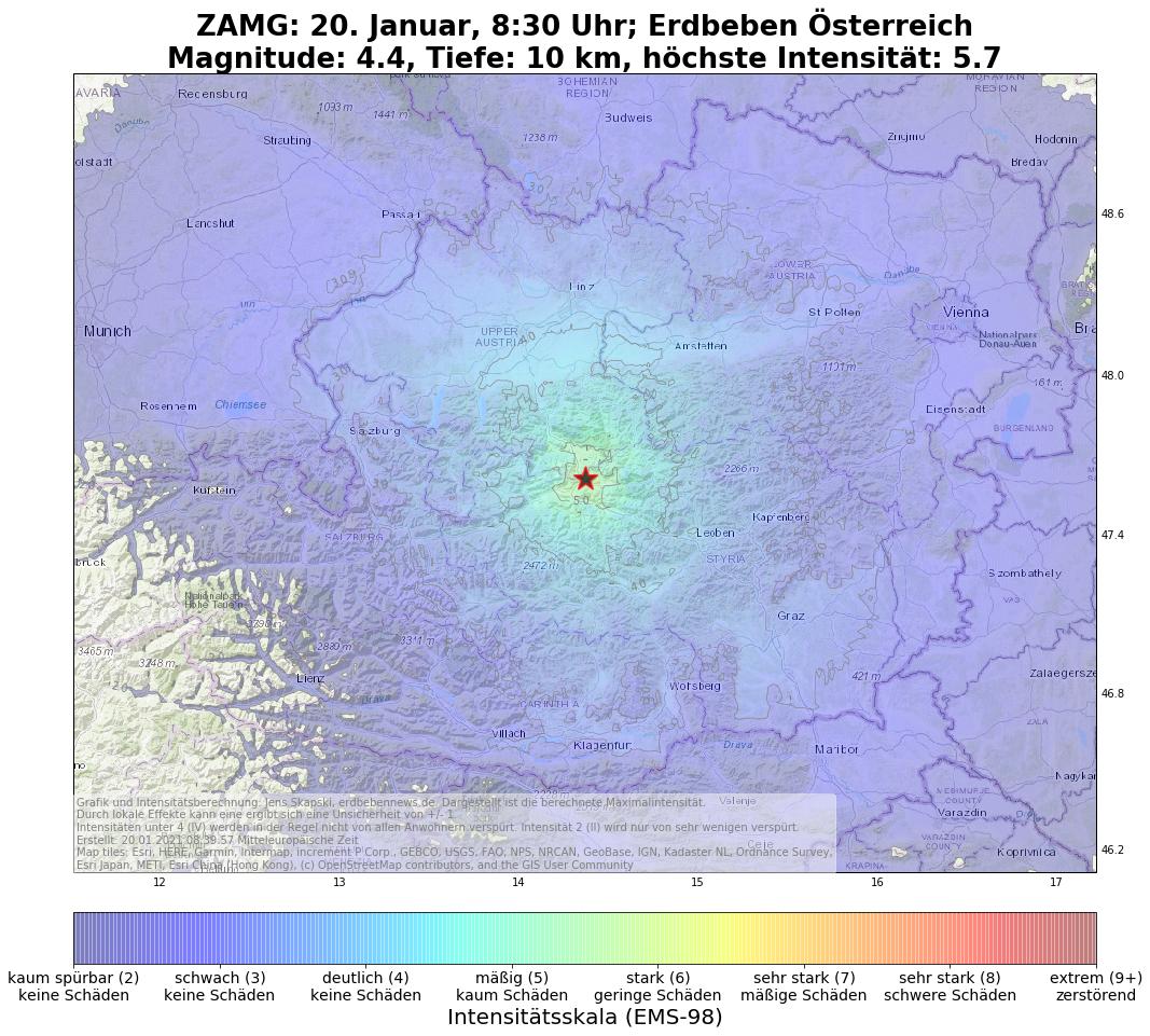 Kräftiges Erdbeben erschüttert Österreich und Bayern ...